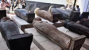 Archäologen entdecken über 100 Särge