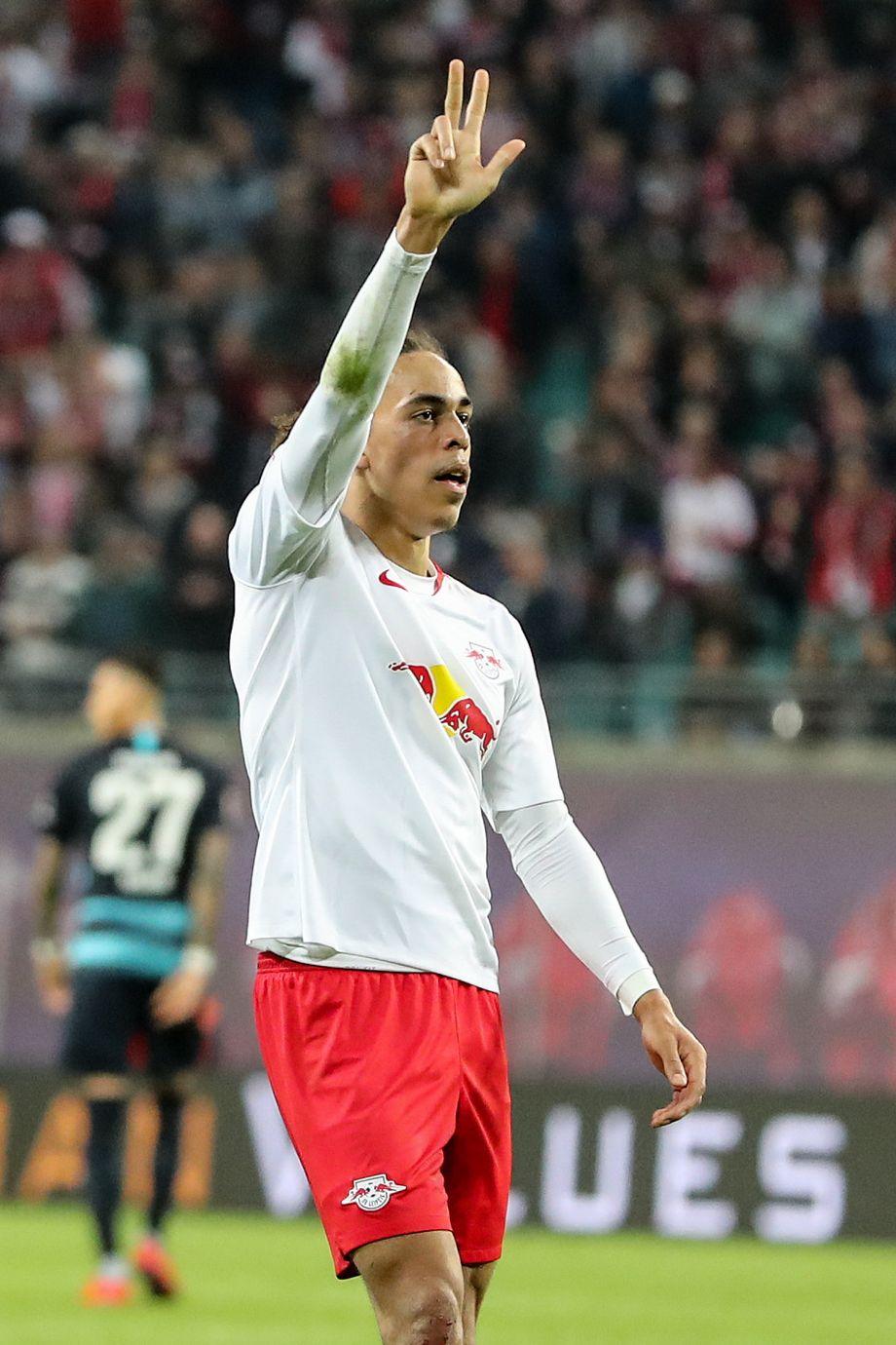 RB-Leipzig-Sieg gegen Hertha BSC in Bildern - DER SPIEGEL