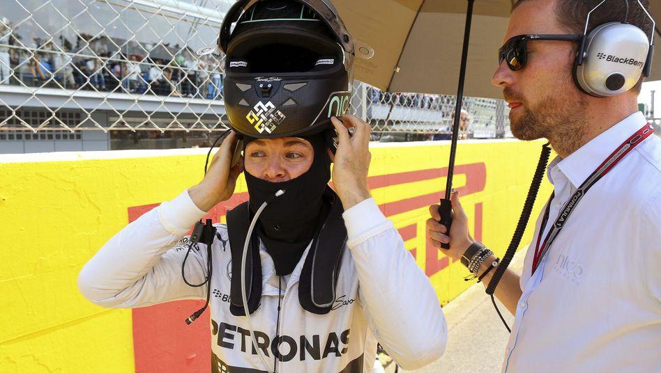 """Rosberg in Monza: """"Dabei sind Fehler passiert"""""""