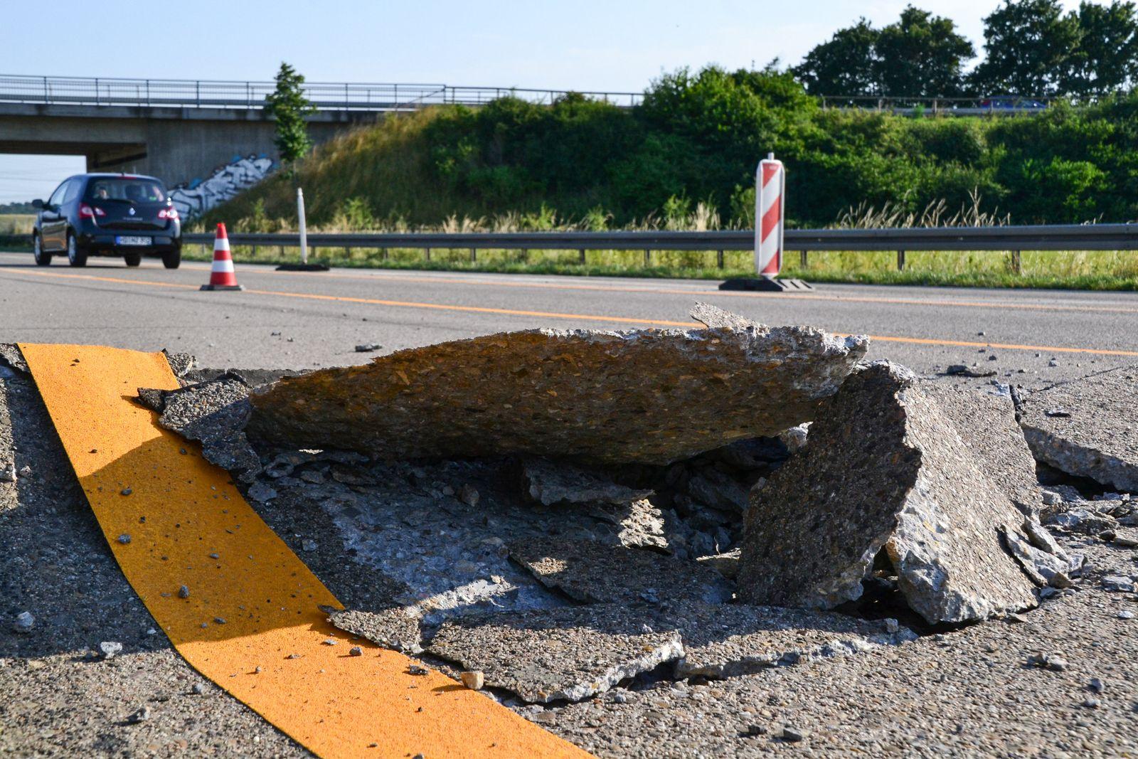 Hitzeschäden auf Autobahnen befürchtet