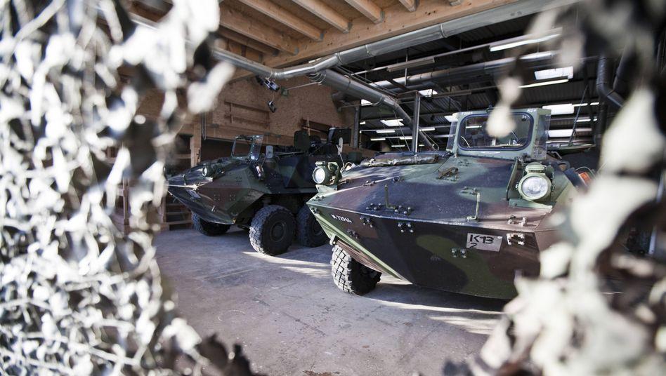 """Schweizer Radpanzer """"Piranha"""": Exportregeln gelockert"""