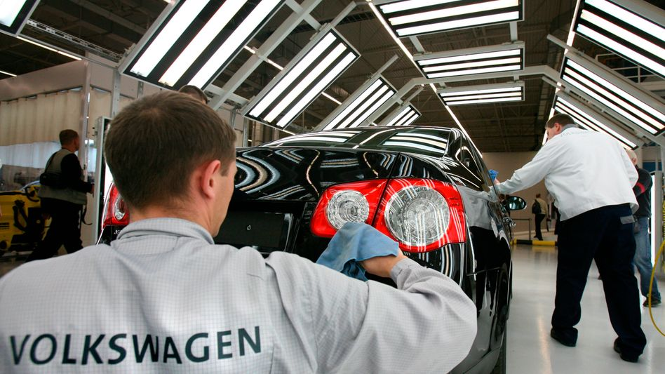 Produktion bei VW