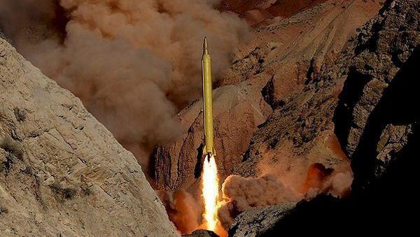 Abschuss einer iranischen Rakete
