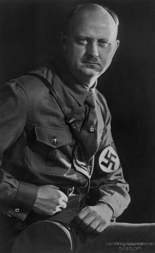 NSDAP-Landesgruppenleiter Wilhelm Gustloff