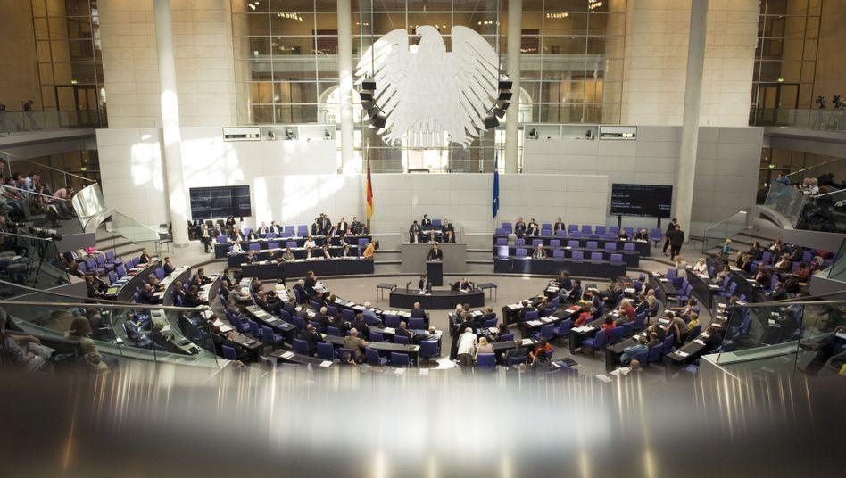 Bundestagssitzung: Unendliche Geschichte um Nebeneinkünfte und Bestechlichkeit