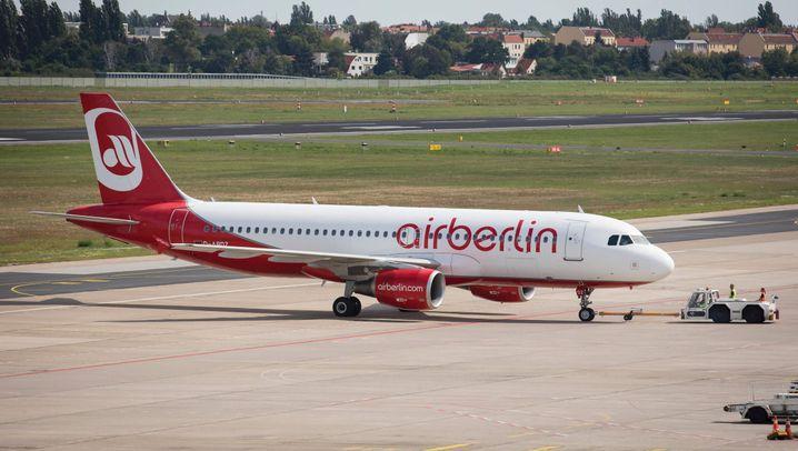 Chronik in Bildern: Aufstieg, Sinkflug und Absturz von Air Berlin