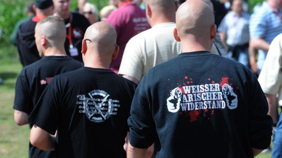 Rechtsextreme in Deutschland (Archivbild)