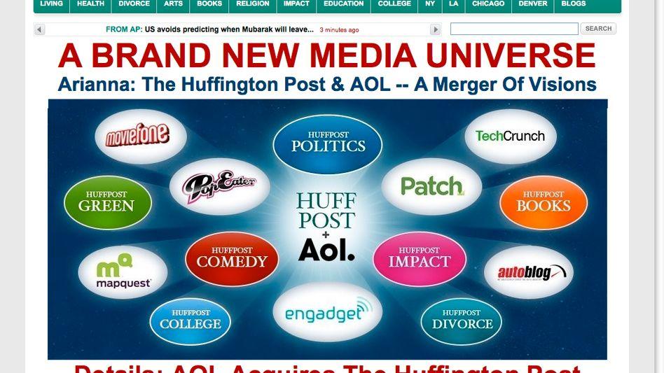 Huffington Post: Viel Inhalt für wenig Geld