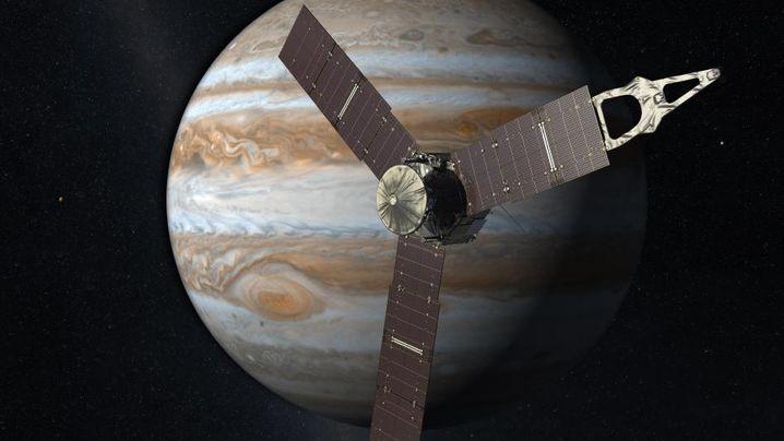 "Sonde ""Juno"": Blick unter dicke Wolken"