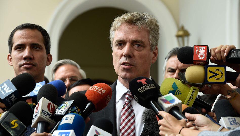 Bald wieder zurück in Caracas: Diplomat Daniel Kriener