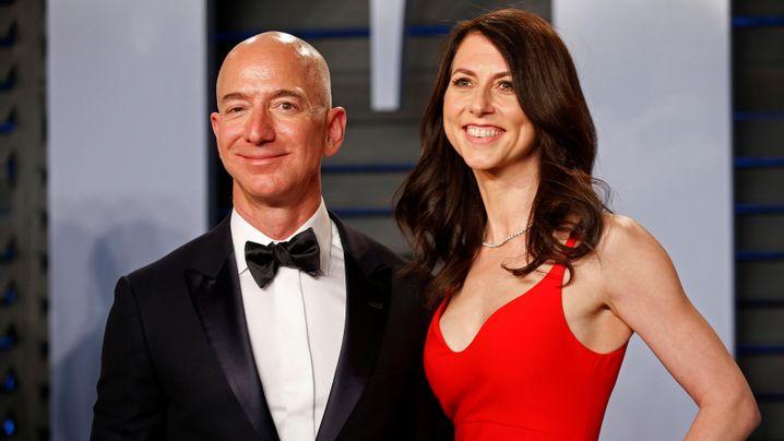 Fotostrecke: Amazon-Chef Bezos und Ehefrau lassen sich scheiden