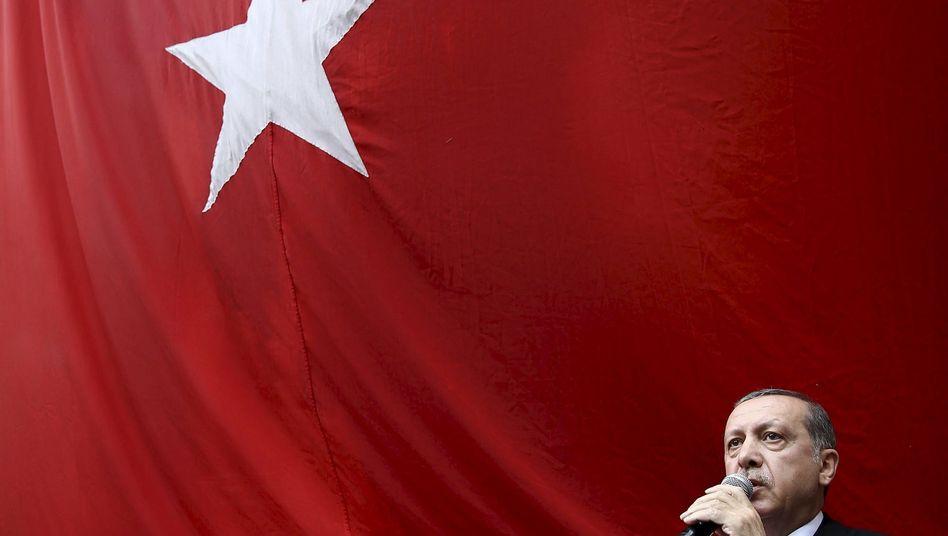 Der türkische Präsident Erdogan in Trabzon: Einziger Ausweg aus der Blockade