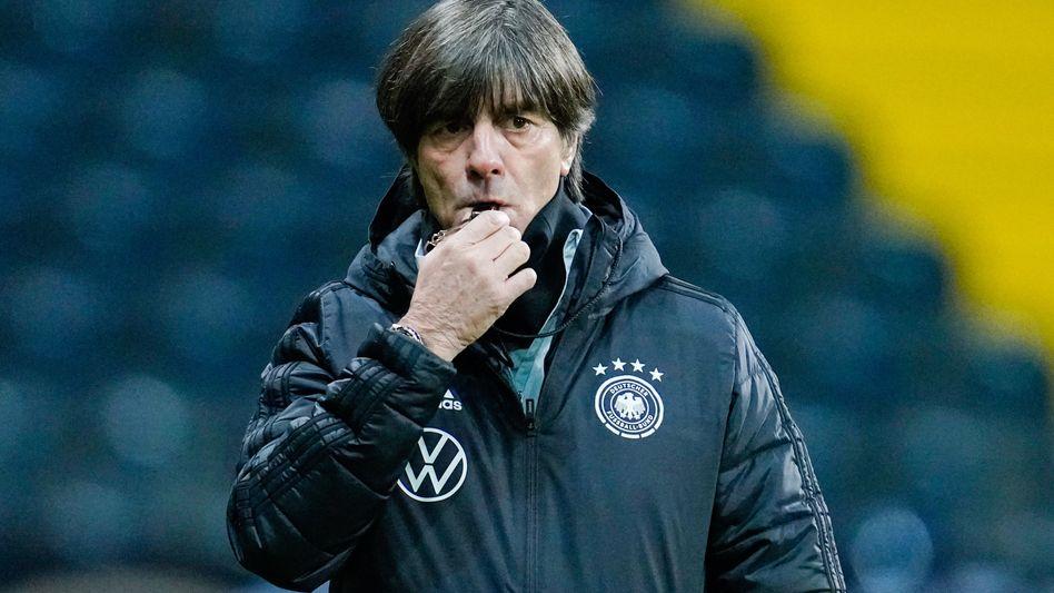 Joachim Löw steht im 14. Länderspieljahr als Trainer