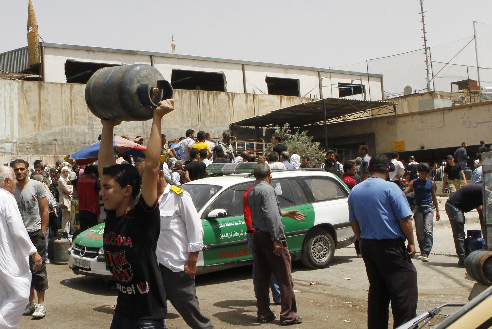 Syria gas economy