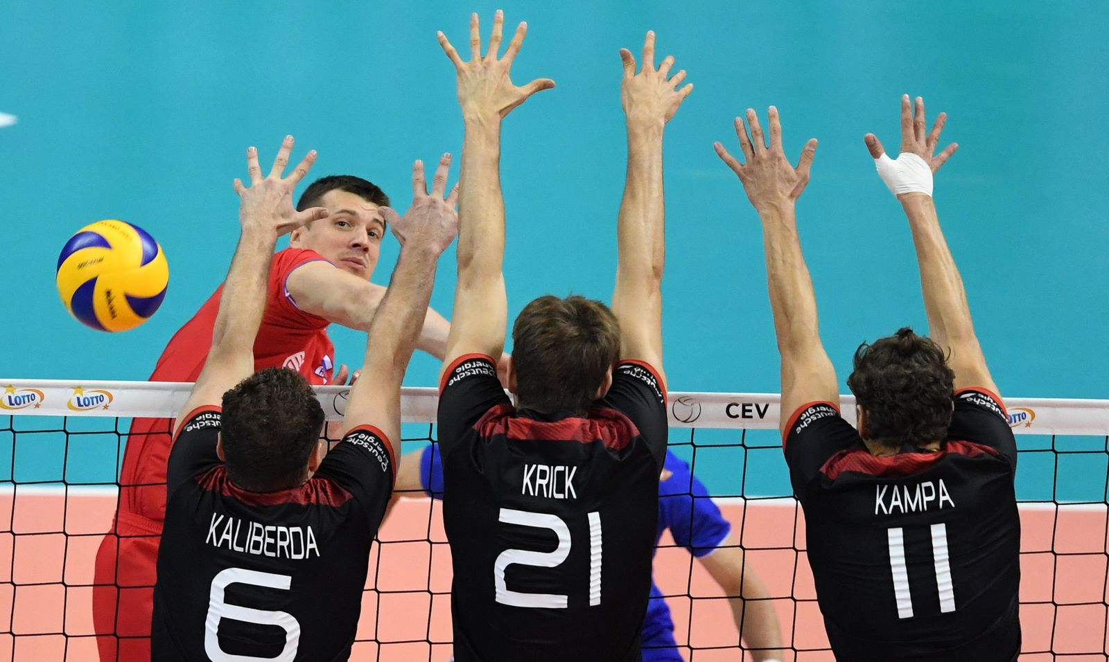 VOLLEYBALL-MENS-EURO-2017-GER-RUS