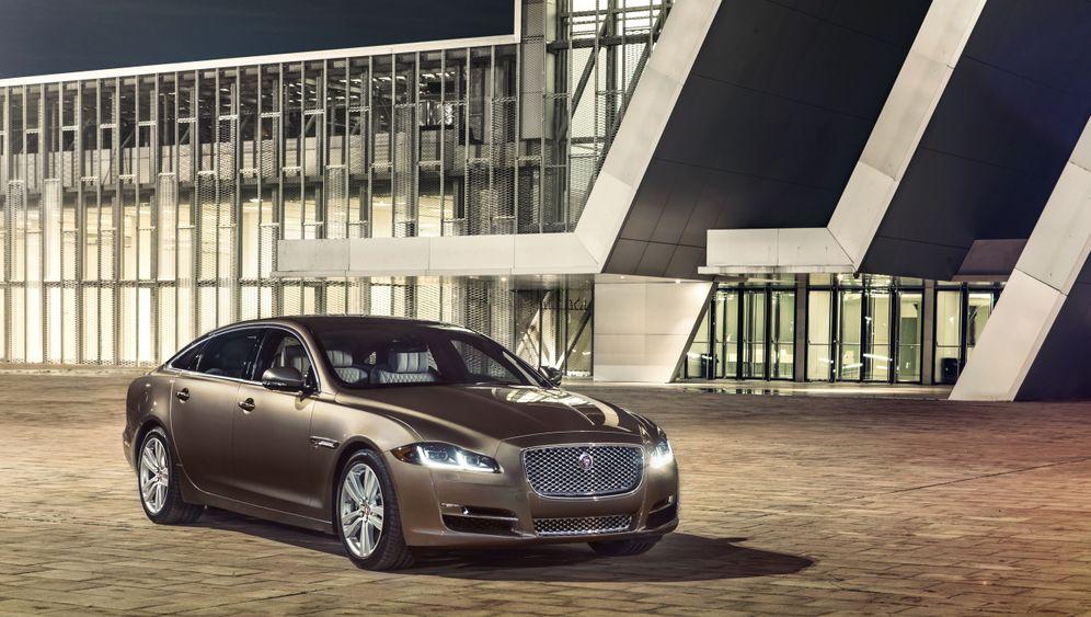 Autogramm Jaguar XJ: Mehr Bytes und PS