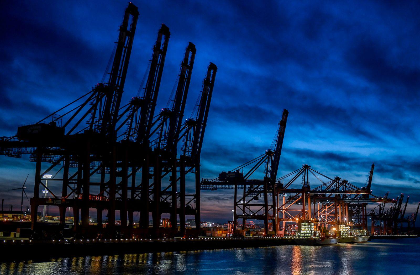 Hamburger Hafen - HHLA - Jahreszahlen