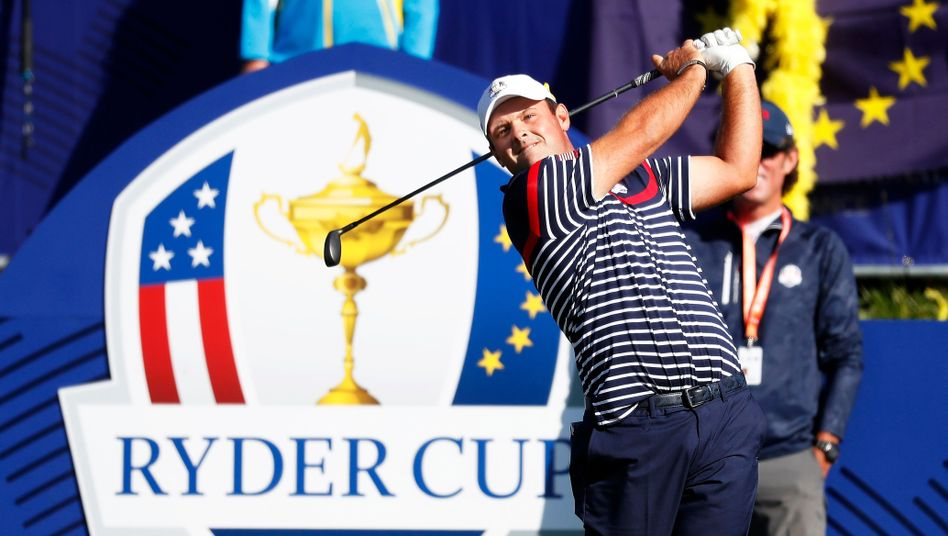 Patrick Reed beim Ryder Cup in Paris