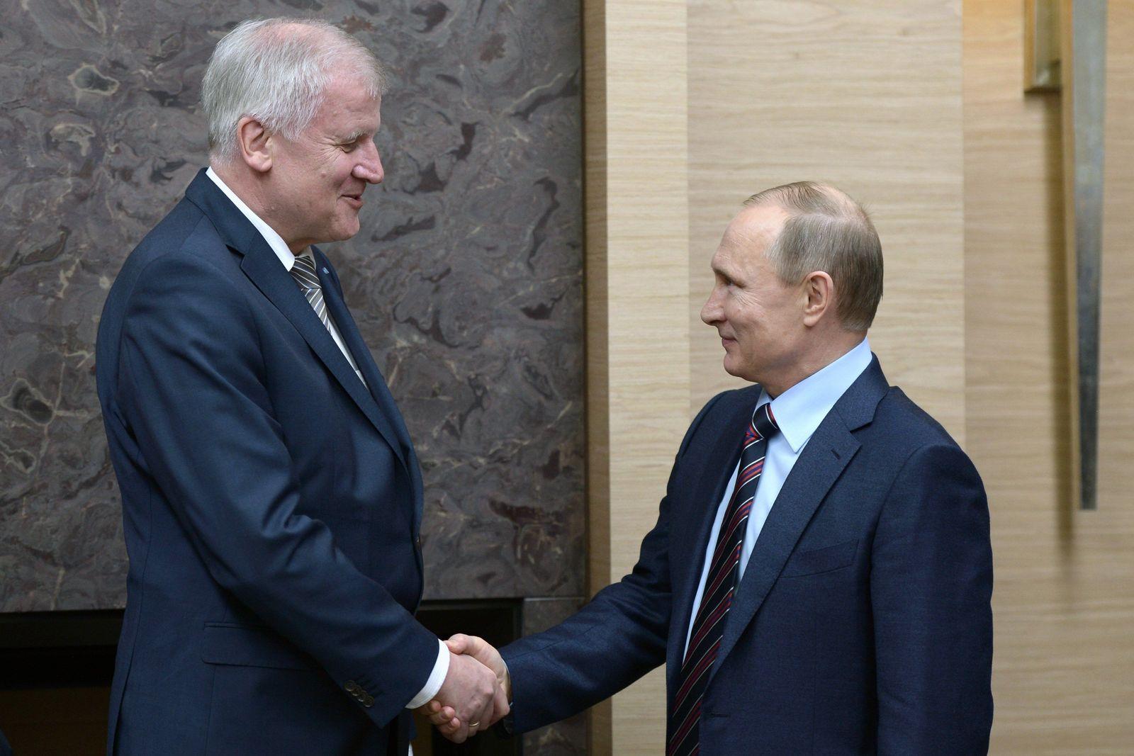 Seehofer/Putin