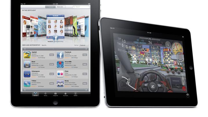 Gewichtsvergleich: So viel wiegt das iPad