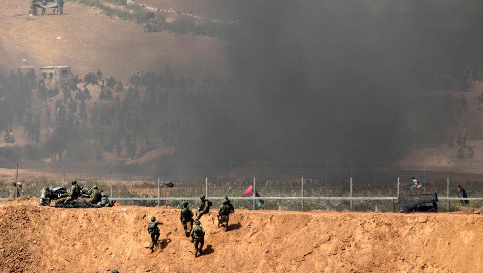 Grenzkonflikt am Gazastreifen