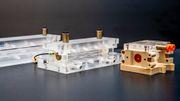 Rekord bei Elektronen-Beschleunigung im Miniformat