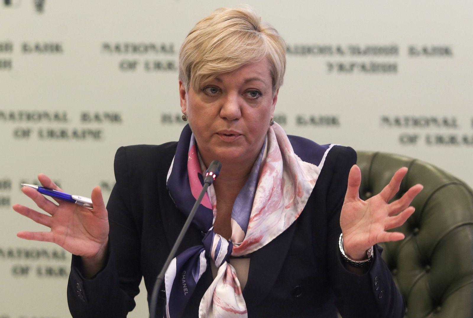 Ukraine Zentralbank Gontareva