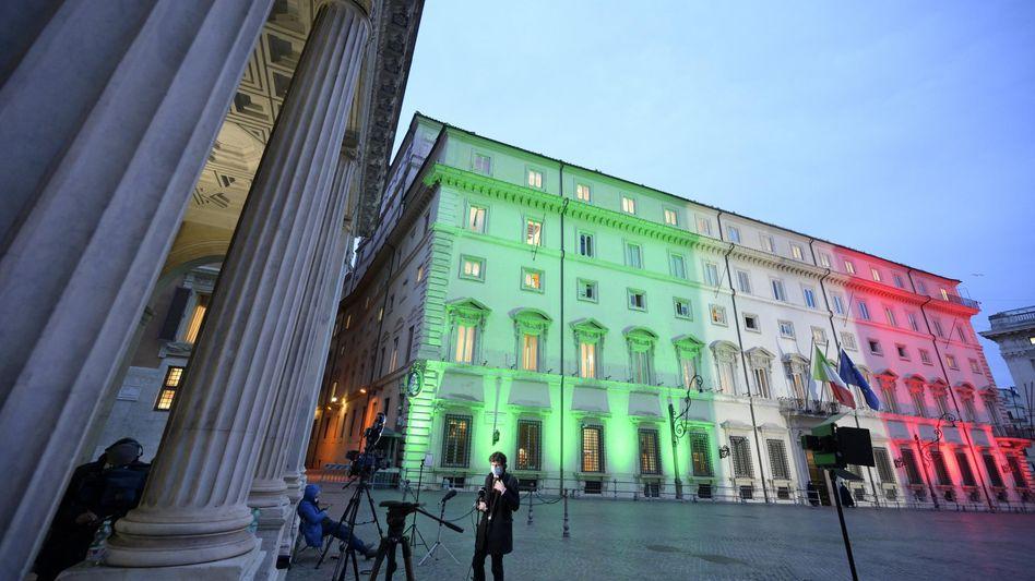 Regierungszentrale in Rom: eine Krisensitzung nach der anderen