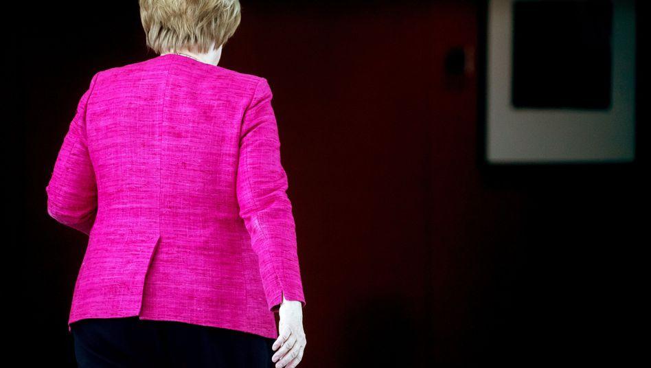Bundeskanzlerin Merkel (Archivbild)