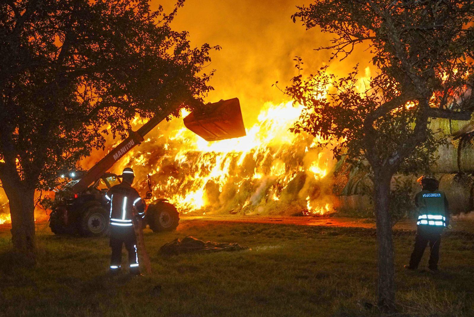 Urteil gegen Feuerwehrmann wegen Brandstiftung
