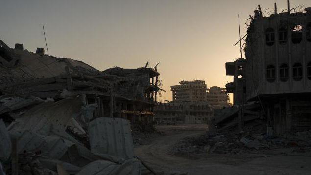 Ruinen im irakischen Mossul