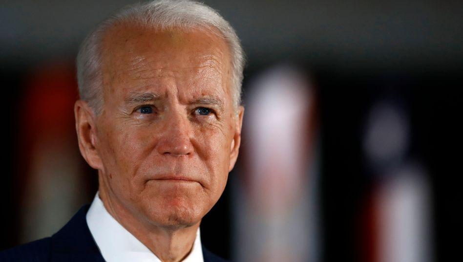 Joe Biden (am 10. März in Philadelphia): Dreifachsieg am Dienstag - mit Florida als wichtigstem Staat