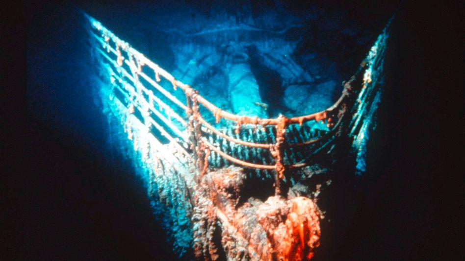 Bug des Titanic-Wracks: Publikumsmagnet nach fast 100 Jahren