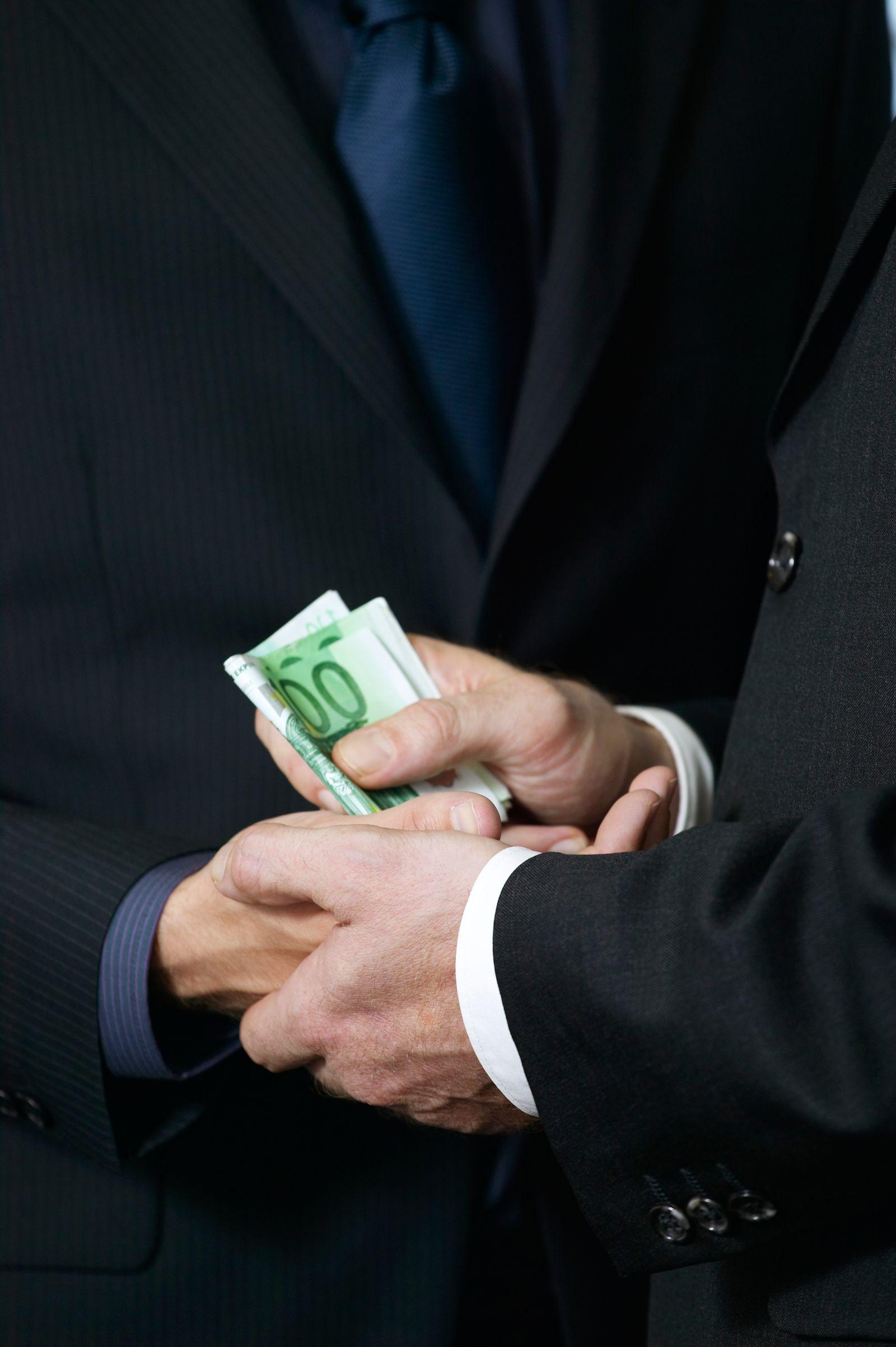NICHT MEHR VERWENDEN! - Korruption Symbolbild