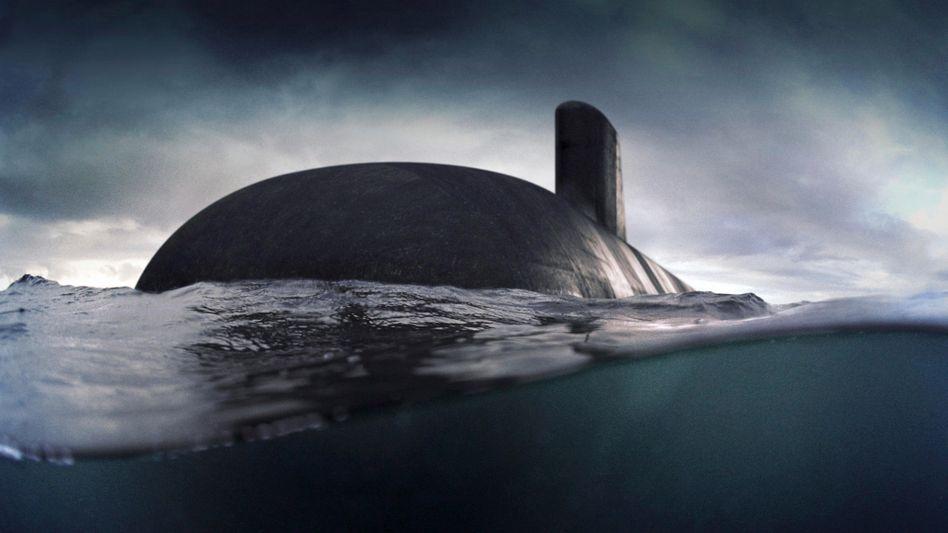 Darstellung eines französischen U-Boots der Suffren-Klasse: »Vertrag aus Bequemlichkeit gekündigt«