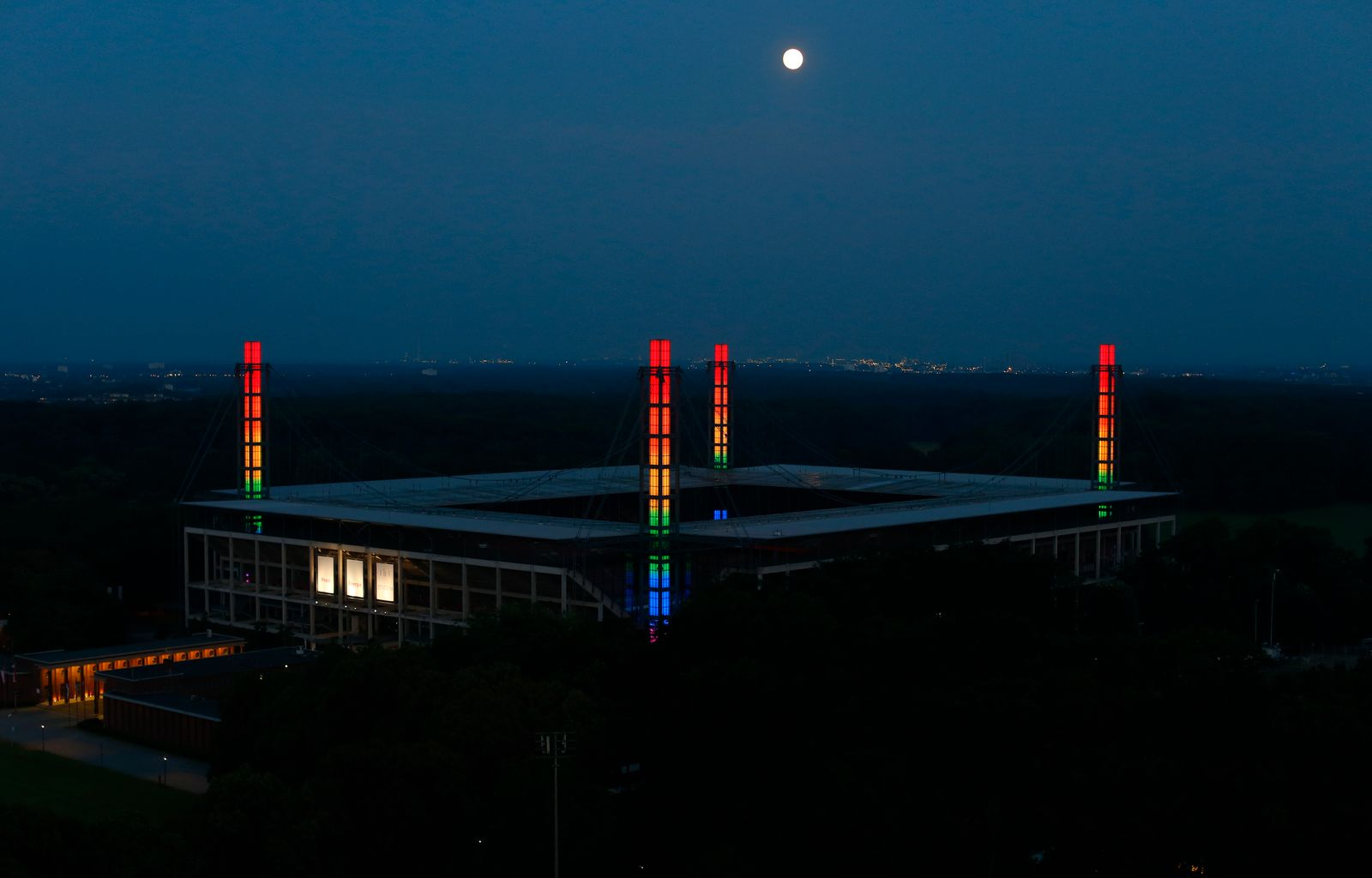 Euro 2020 - Stadiums in Germany expected to be illuminated in rainbow colours during the Germany v Hungary match