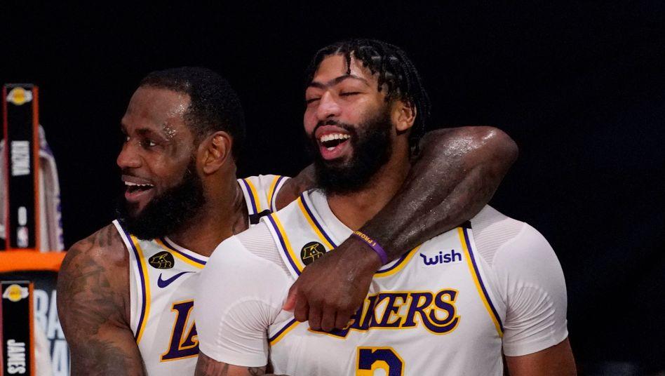 LeBron James und Anthony Davis bleiben bei den Lakers