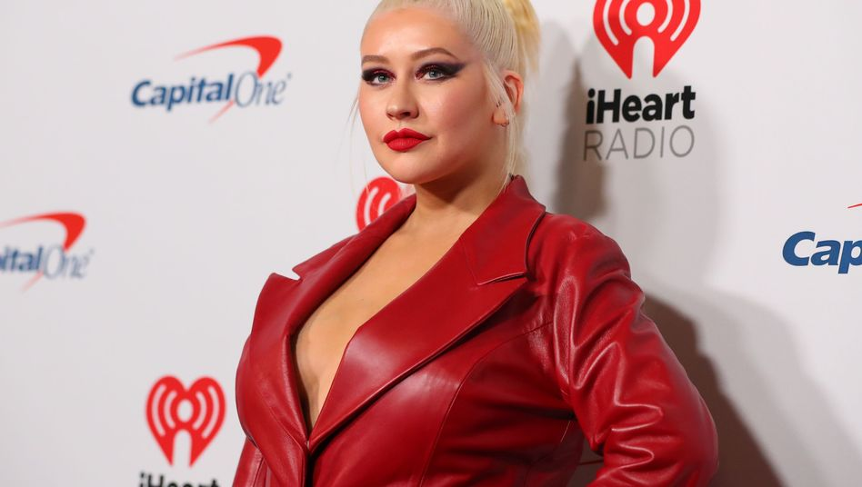 Christina Aguilera im September in Las Vegas