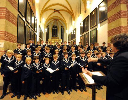 Auftritt beim Thomanerchor