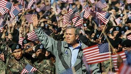 Ahmadinedschad-Gegner Bush: Raue Töne gegen Iran