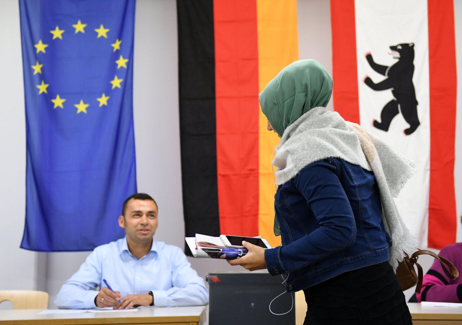 Bundestagswahl 2017 / Berlin