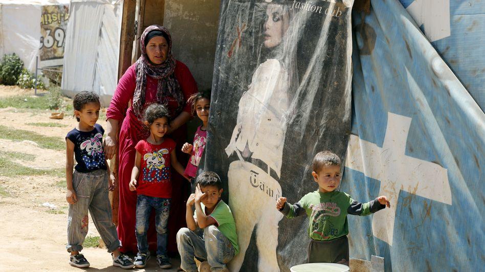 """Syrische Flüchtlinge (in der libanesischen Bekaa-Ebene): """"Wir haben im Libanon keine Zukunft"""""""