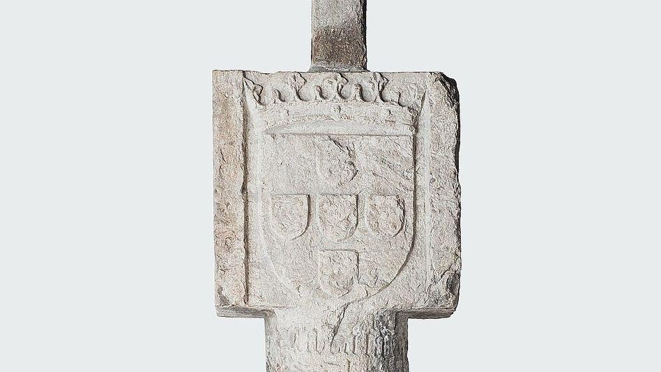 Wappensäule im Deutschen Historischen Museum Die Suche nach Gerechtigkeit vor der Geschichte