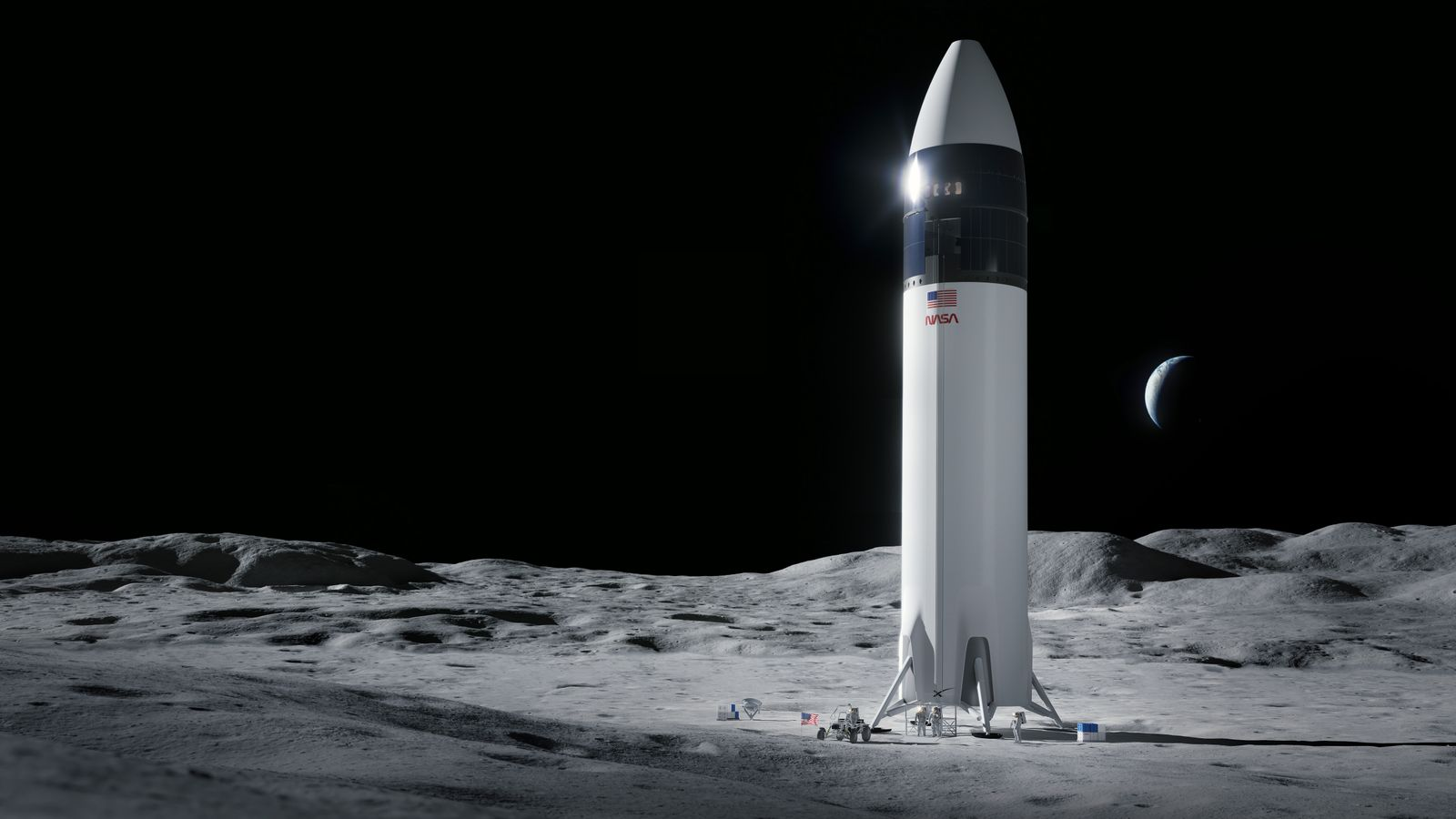 SpaceX to Land Next Americans on Moon