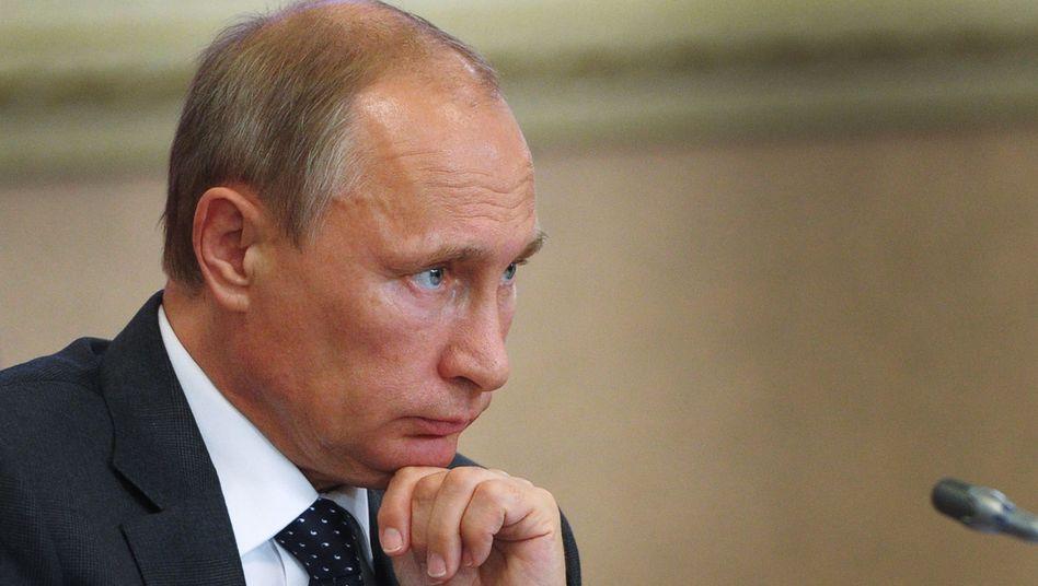 """Präsident Putin: Der """"Anti-Midas"""" - was er anfasst, wird eben nicht zu Gold"""