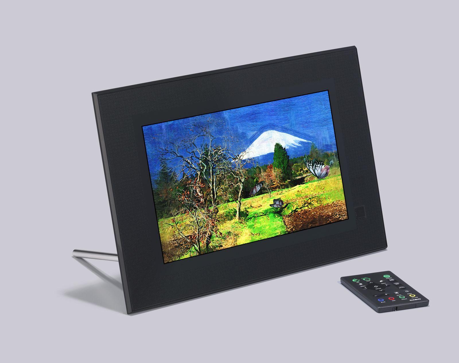 CES 2010 / Casio Art Frame