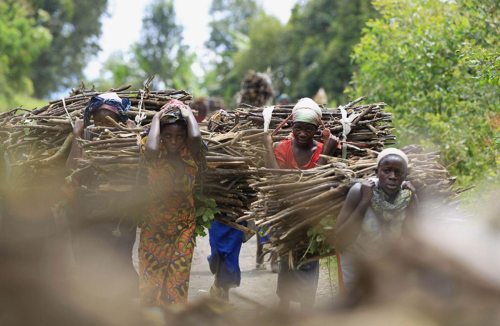 Frauen im Kongo
