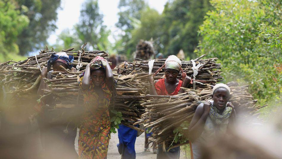 Kongolesische Frauen (Symbolbild)