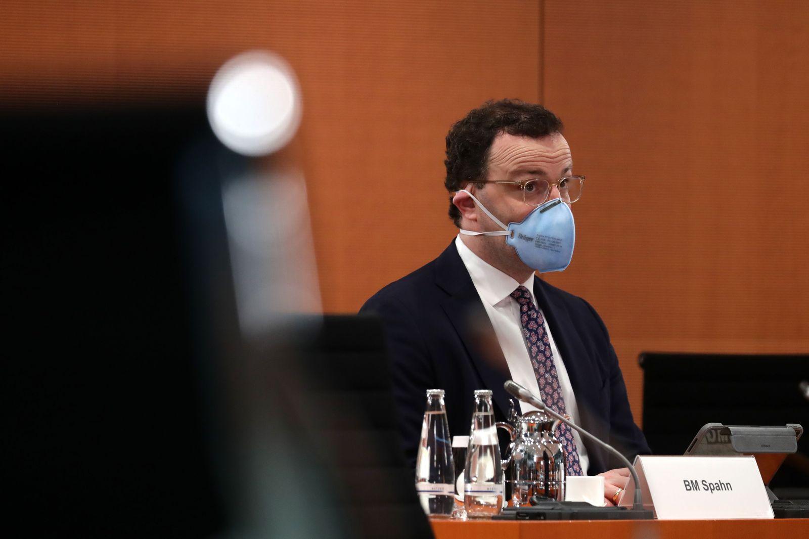 German governmental cabinet meeting in Berlin, Germany - 03 Feb 2021