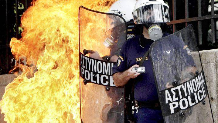 Tote bei Protesten: Chaos in Athen